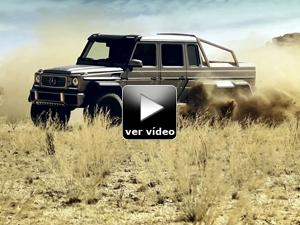 Vídeo: Mercedes-Benz G 6x6